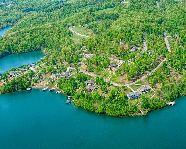 Norris Crest Lots for Sale on Norris Lake